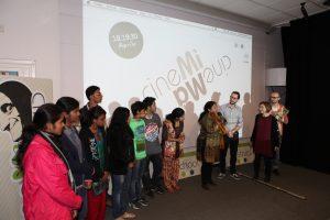 Delegazione della Study Hall di Lucknow, India